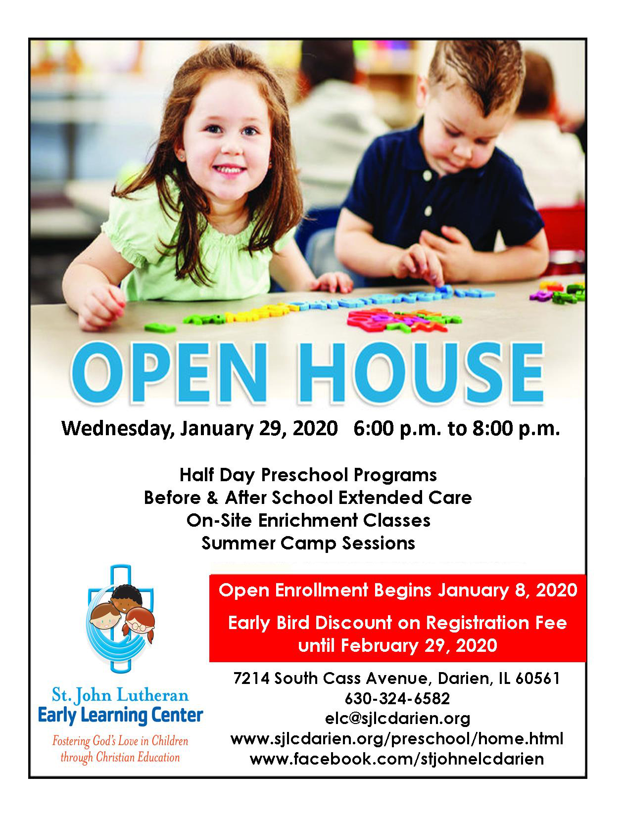ELC Open House 2020 Poster